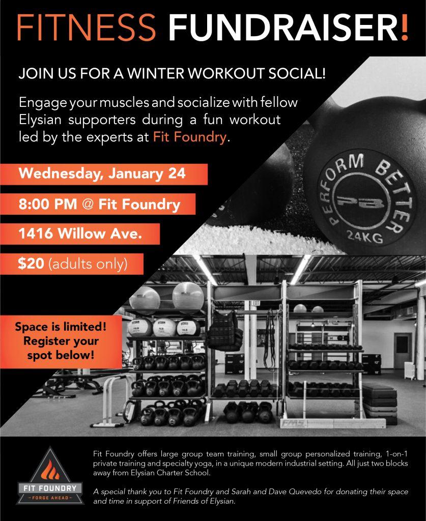 Fitness Fundraiser – Elysian Charter School