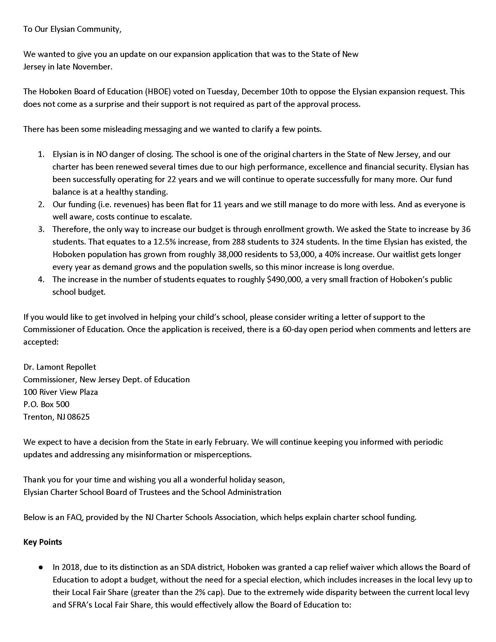 PDF of letter